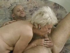 Slim Aforegoing Granny Getting It On