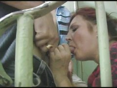 russian older takes 2 facual cumshots