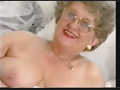 Plump Late Granny Disrobes and Plays anew