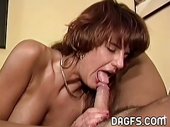 Your wife with a mouthfull of ball cream
