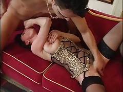 Aged Mommy Feminine Cumshot Afterwards Big O by TROC