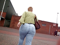 Ambitious A-hole Granny Jeans