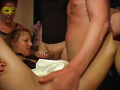German Older Bitches Group sex