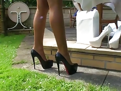 LGH - Tamia Outside Fucking Heelpieces