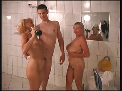 RUSSIAN Mommy 22 blond aged with a youthful masculine
