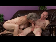 Granny Plays With Former Masculine by TROC