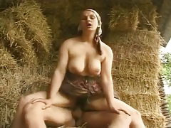 Unshaved MILF with vast pointer sisters drilled and facialized