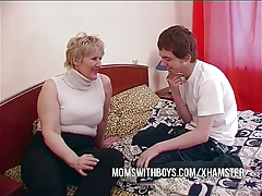 BBW Older Mama Seduces Sons Mate