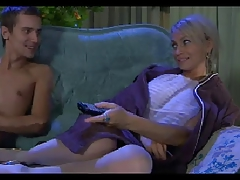 Hawt Mommy n147 blond russian older milf and a juvenile masculine