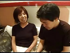 63yr aforegoing Japanese Granny Can't live without Younger Shlong (Uncensored)