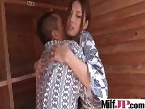 Floozy Lascivious Japanese Milf Acquire Hardcore Nailed vid-10